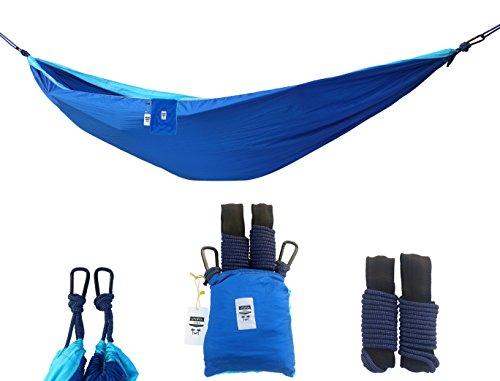 supreme nylon hammock     supreme nylon hammock  u2013 supports up to two people or 400 lbs      rh   bestcampkitchen