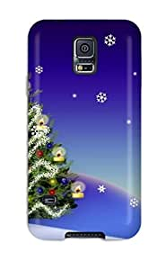 Awesome Design Christmas 8 Hard Case Cover For Galaxy S5