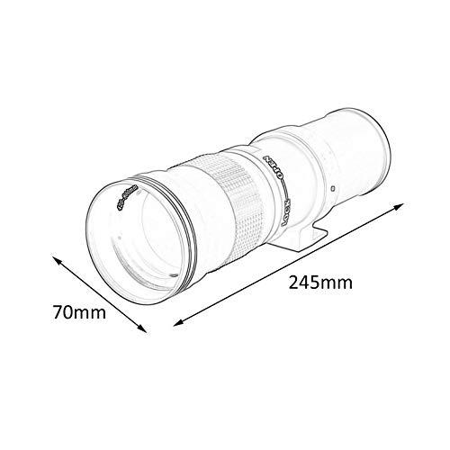 Teleobjetivo 420-800mm f / 8.3-16 para cámara réflex Digital con ...