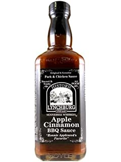 Historic Lynchburg Tennessee Whiskey Apple Cinnamon Barbecue Sauce