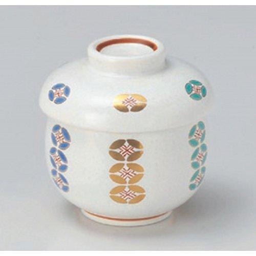 Cloisonne Bowl - Bowl utw307-27-754 [R 3 x 3.5 inch 6.8floz] Japanece ceramic Cloisonne steamed rice bowl tableware