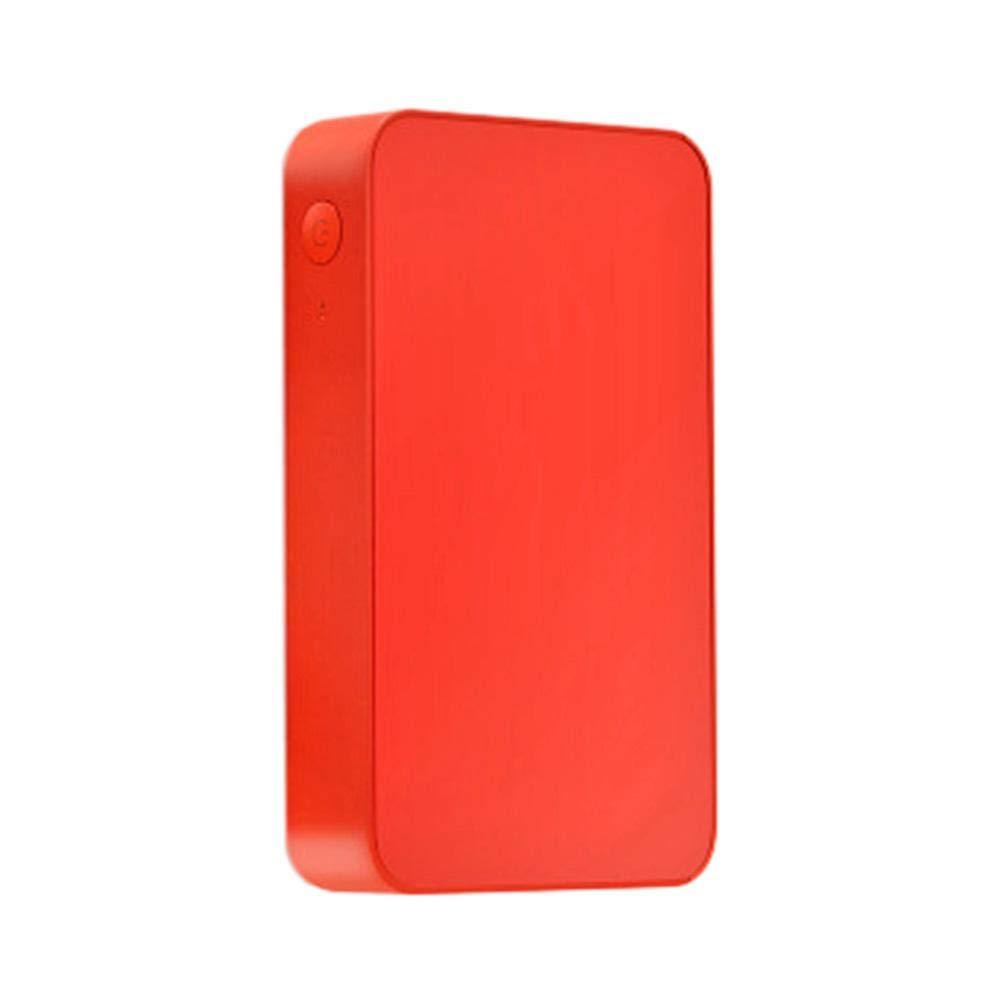 volflashy 小型 ワイヤレス モバイルプリンター スマホプリンター ブルートゥー NFC接続 USB充電 POS画像 写真 カラープリンター ポケット型 Ios9.0以上android4.4以上 B07R589ZGS レッド