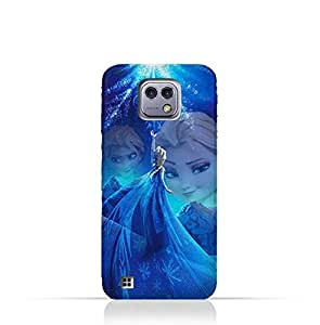 LG X Cam TPU Protective Silicone Case with Frozen Elsa Design