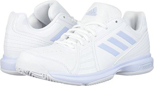- adidas  Women's Aspire Tennis Shoe, White/Aero Blue/White, 7.5 M US