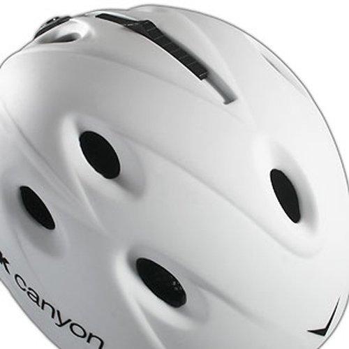 Black Canyon Zermatt - Casco de esquí, color blanco mate blanco (weiss) Talla: medium (57-58 cm): Amazon.es: Deportes y aire libre