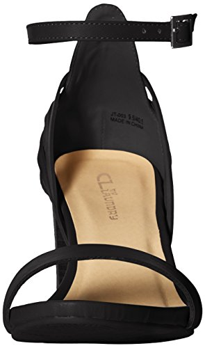 Black Chinese by CL Laundry Sandal Smooth Joy WoMen Heeled Bx0fq0w5