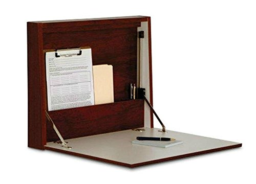 Luggage Pros Fold-Away Wall Desk by Wooden Mallet