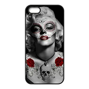 diy zhengCool Painting Zombie Marilyn Monroe New Fashion DIY Phone Case for iPhone 6 Plus Case 5.5 Inch /,customized cover case case692427
