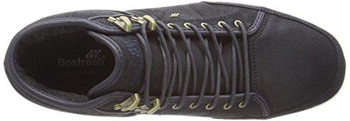 Boxfresh Swapp Prem Blok - zapatillas altas de cuero hombre azul - azul (azul)