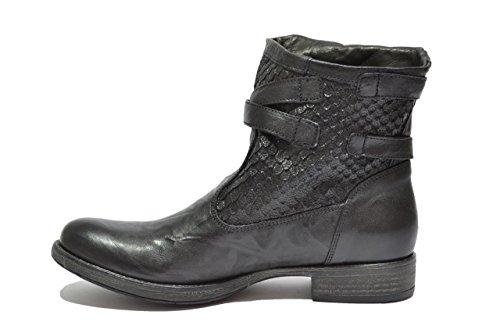 Pour Ville Rodeo Femme Nero De Chaussures À Giardini Lacets SqxYCOnc