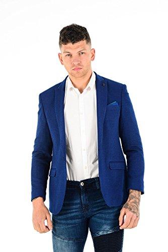 Blazer Blue Electric Para Style Wessi Hombre Tweed ARxa1wpw