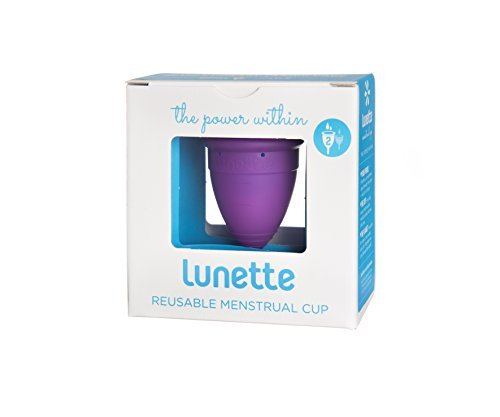 Lunette Reusable Menstrual Cup - Violet - Model 2 for Normal or Heavy Flow - Your Vagina's New Best Friend