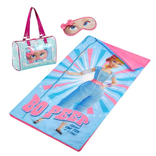 Disney Toy Story 4 Bo Peep Sleepover Purse & Eye Mask Set, Multi (Toy Story Bag Sleeping)