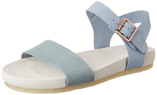 Clarks 261227354, Sandalias Mujer Azul (Pastel Blue)
