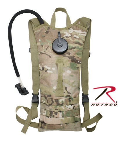 Rothco Multicam MOLLE 3-Liter Backstrap Hydration System 2840, Outdoor Stuffs