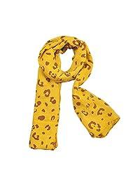Timall Baby Girl Leopard Scarf Children's Warm Autumn Winter Neckerchief (Age 1-7T)