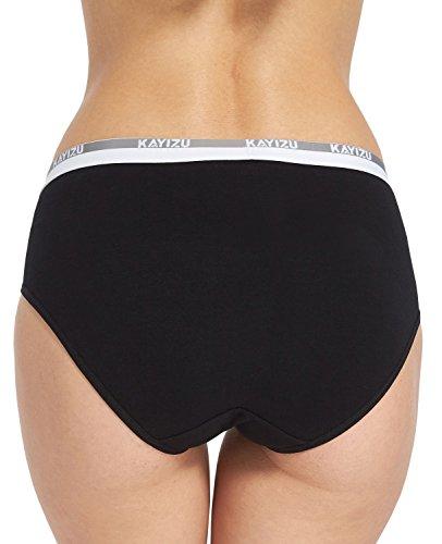KAYIZU Damen Taillenslip Gr. Medium, Assorted (6-Pack)