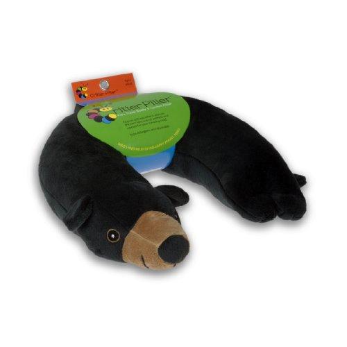 Critter Piller Kids Pillow Black product image