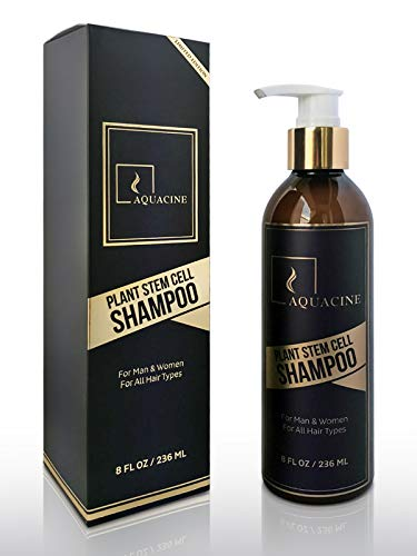poo for Hair Growth,Organic Hair Thinning System,Promotes Thicker,Fuller and Faster Growing Hair, All Natural Formula For All Hair Types, For Men & Women by Aquacine ()