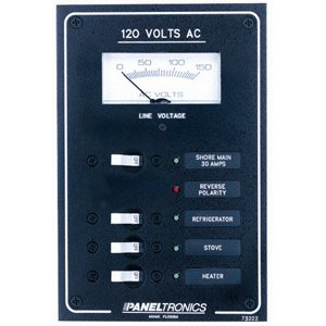 Paneltronics Standard AC 3 Position Breaker Panel & ()