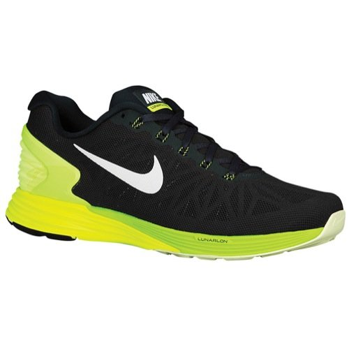 e 6 Running Sneaker (6 D(M) US, Seaweed/White/Volt/Electric Green) ()