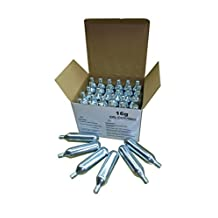 Mosa 16 Gram Threaded Co2 Cartridges (Pack of 30)