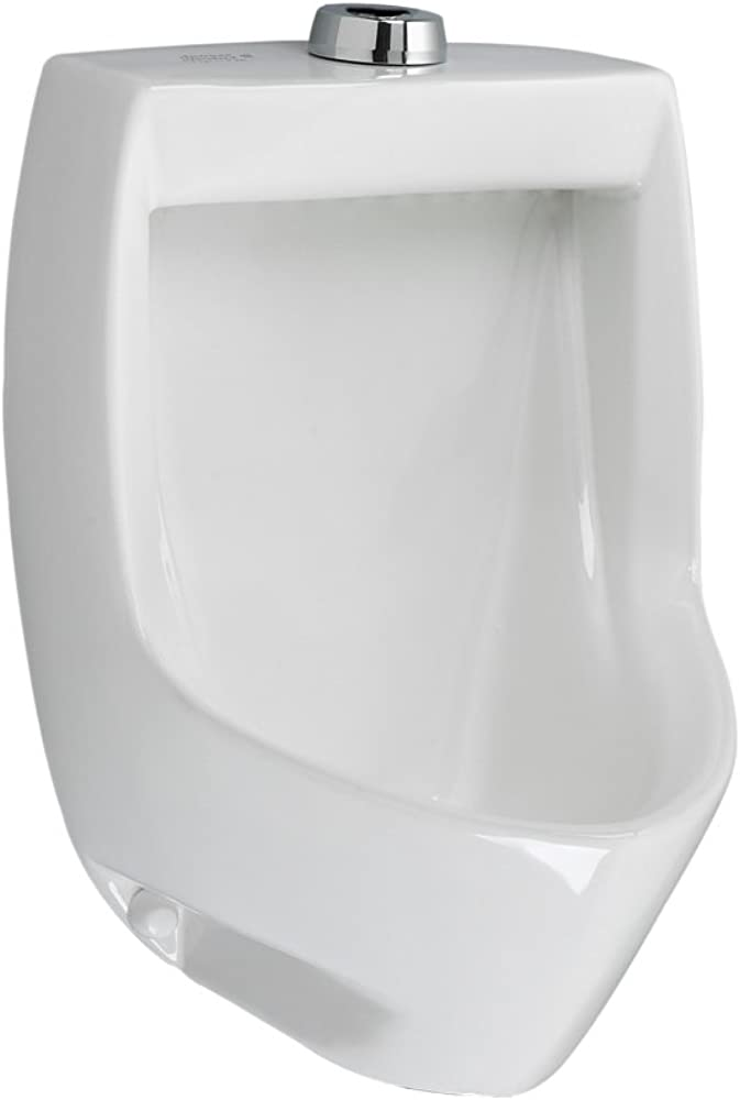 American Standard 6581001EC.020 Maybrook Universal Washout Urinal with EverClean, 0.125-1.0 GPF, White