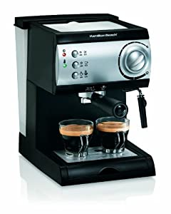 Hamilton Beach Espresso Machine : Great value awesome tasting espresso