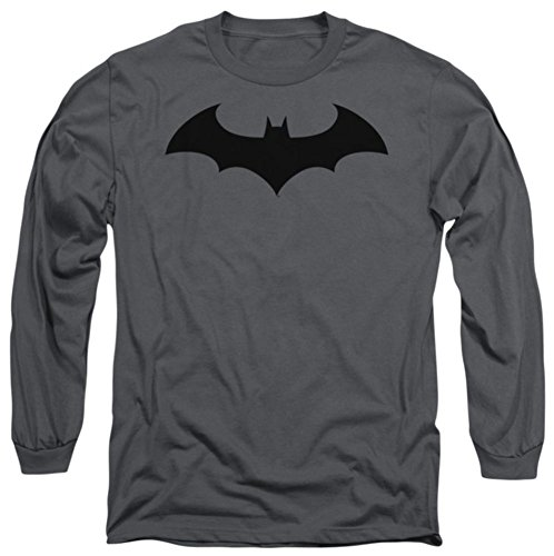 Batman Hush Logo Officially Licensed Adult Long Sleeves T Shirt