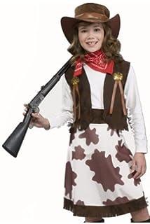 cowgirl child costume medium