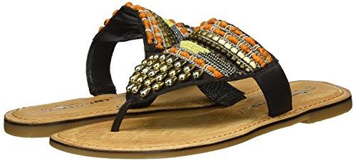 Women''s Brown Toe 27100 Boot brown Tamaris 453 Comb Shoe Guards d4F7qnx