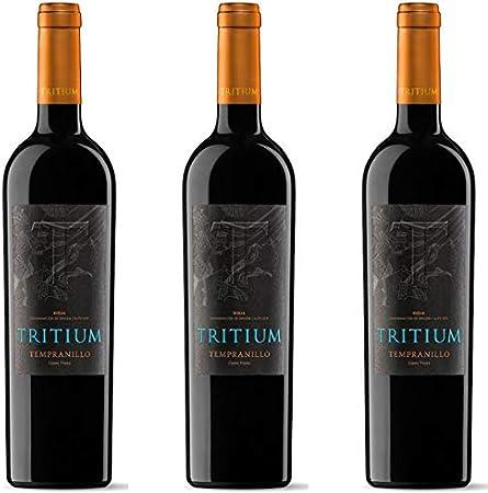 Tritium Vino Tinto Cepas Viejas - 3 botellas x 750ml - total: 2250 ml