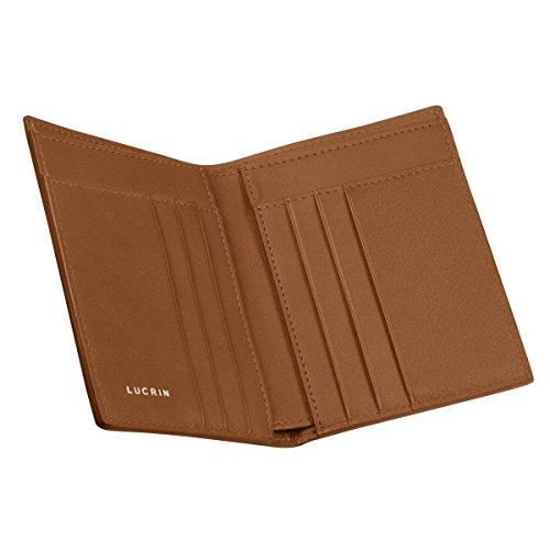 Tan Smooth wallet Luxury Leather Lucrin Lucrin Natural Luxury wqtX07n