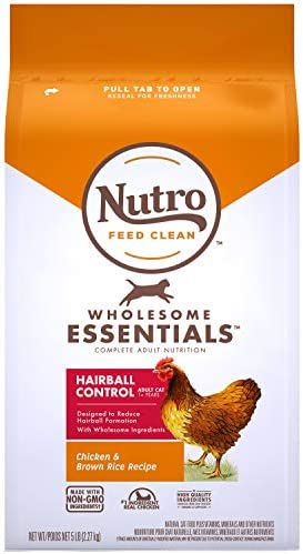 Nutro Wholesome Essentials Hairball Control Adult Dry Cat Food, Chicken 2