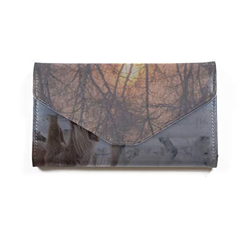 Amazon.com | Horses Of Yakut Breed Travel Passport Wallet ...