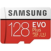 Samsung 128GB EVO Plus Class 10 Micro SDXC with Adapter (MB-MC128GA)