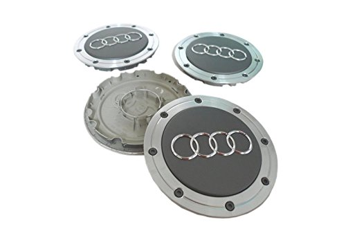 Audi A4 A6 A8 S4 S6 S8 Hubcap Wheel Center Caps 4B0601165A 4B0 601 165 A (Set of 4 pieces) (Audi A6 Wheel Cover compare prices)
