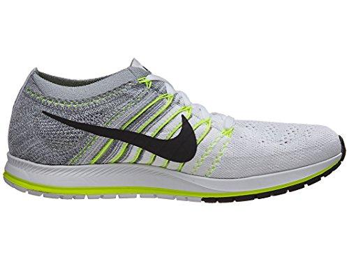 Nike Flyknit Streak, Zapatillas de Running Para Mujer Blanco (Blanco (white/black-volt-pure platinum))