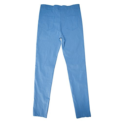 Denim Bold Fille Manner Mode Slim Printemps Loisir Collant Femme Longue Bleu Elastique Jeans Legging Pants Trou Pantalon Dchire Casual Crayon Confort fqzwrfxC