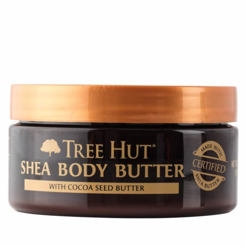 Tree Hut 24 Hour Intense Hydrating Shea Body Butter, Original Shea, 7 Ounce (Shea Butter Leave)