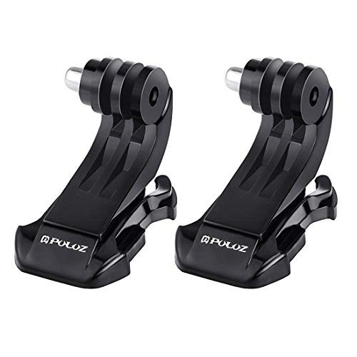 Joint Victory 2 pcs Vertical Surface J-Hook Buckle Mount Set for Chest Belt Helmet for GoPro HERO 5/4 Session/4/3+/3/2/1 SJ4000 and other Action Camera