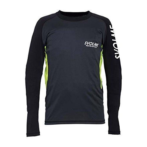 華氏セットアップ環境保護主義者SVOLME(スボルメ)スリーブフィット トレーニングトップ サッカー フットサル Tシャツ メンズ レディース 181-63400