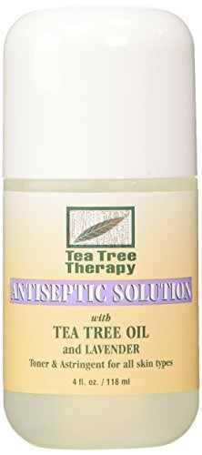 (Tea Tree Therapy Antiseptic Solution Tea Tree Oil and Lavender, 4 Fluid)