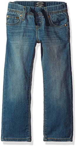 Signature by Levi Strauss & Co. Gold Label Big Little Boys' Athletic Recess Fit Jeans, Gulf, 7 ()