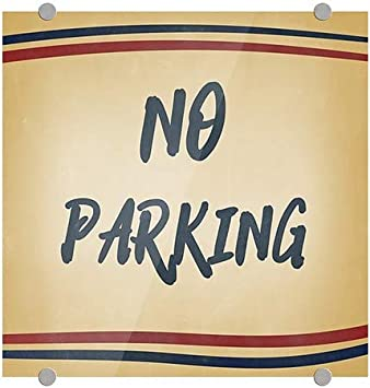 5-Pack CGSignLab Nautical Stripes Premium Brushed Aluminum Sign 24x6 Keep Out