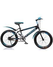 "YFNIAO Unisex Youth Mountain Bike 18"", Blue, Size L"