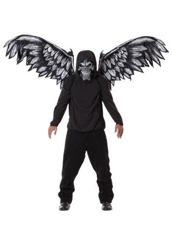 [Fallen Angel Mask and Wings (Black) Accessory] (Fallen Angel Costume)