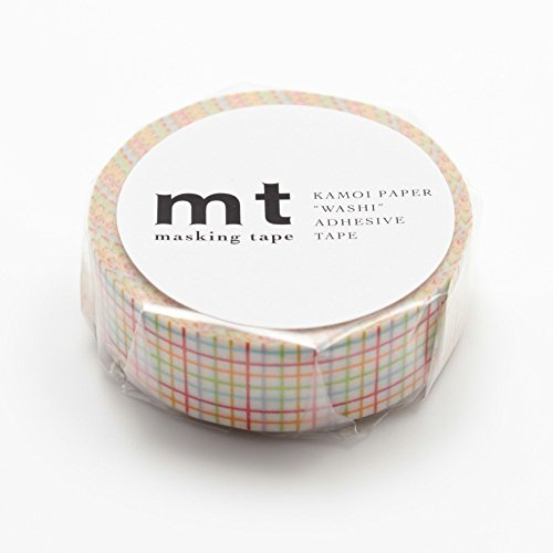 MT Washi Masking Tape Grid-Red (MT01D123) by MT
