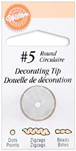 Round Decorating Tip 5