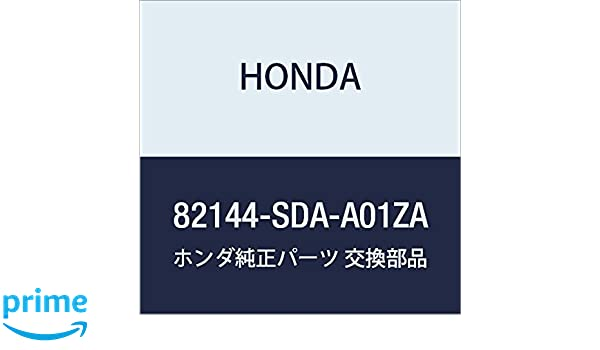 Graphite Black Honda Genuine 81143-SDA-A01ZA Headrest Guide